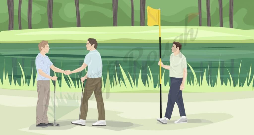 follow the Golf Course Etiquette