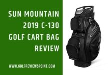 Sun Mountain 2019 C-130 Golf Cart Bag Review