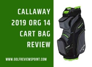 Callaway 2019 ORG 14 Golf Cart Bag Review