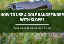 How To Use Golf Rangefinder With Slope