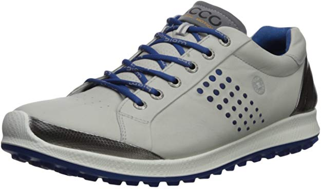 Specifications of Ecco biom hybrid 2 golf shoes (Concrete/Royal)