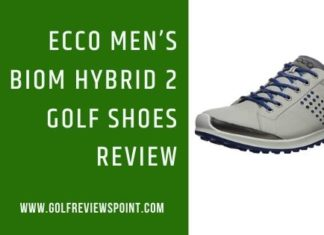 Ecco Men's Biom Hybrid 2 Golf Shoes Review