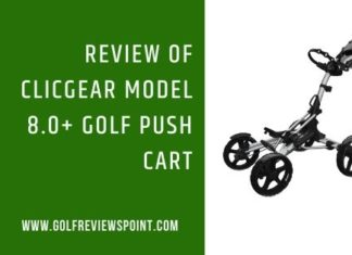 Clicgear Model 8.0+ Golf Push Cart