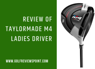Taylormade M4 ladies driver Review