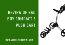 Review of Bag Boy Compact 3 Push Cart