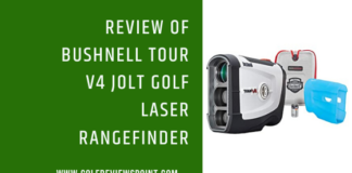 Bushnell Tour V4 JOLT Golf Laser Rangefinder Review