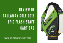 Callaway Golf 2019 Epic Flash Staff Cart Bag