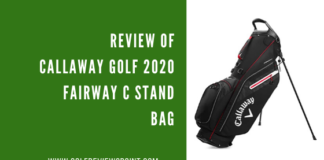 Callaway Golf 2020 Fairway C Stand Bag