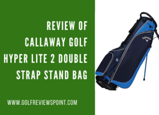 Review of Callaway Golf Hyper Lite 2 Double Strap Stand Bag