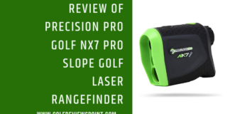 Precision Pro Golf NX7 Pro Slope Golf Laser Rangefinder review