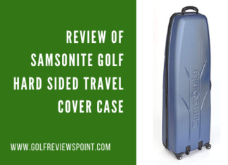 Review of Samsonite Golf Hard Sided Travel Cover Case