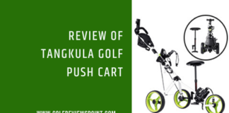 Review of Tangkula Golf Push Cart