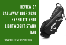 Callaway Golf 2020 Hyperlite Zero Lightweight Stand Bag
