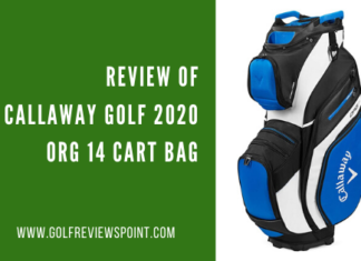 Review of Callaway Golf 2020 ORG 14 Cart Bag