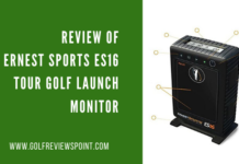 Ernest Sports ES16 Tour Golf Launch Monitor
