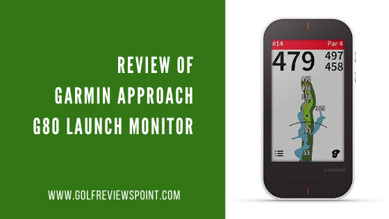Garmin Approach G80 Launch Monitor