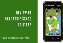 Review of SkyCaddie SX400 Golf GPS