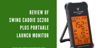 Review of Swing Caddie SC200 Plus Portable Launch Monitor